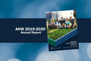 Image of AHW 2020 Annual Report Cover