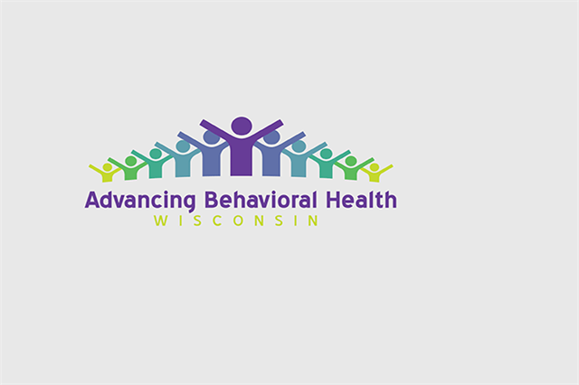 Advancing Behavioral Health Logo on Gray Background